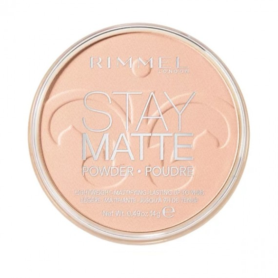 Rimmel Stay Matte Pressed Powder - 006 Warm Beige-0
