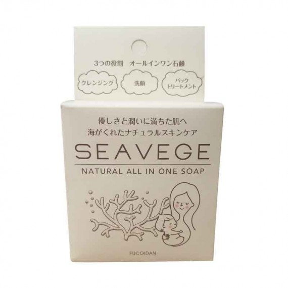 Seavege Natural All In One Soap-0