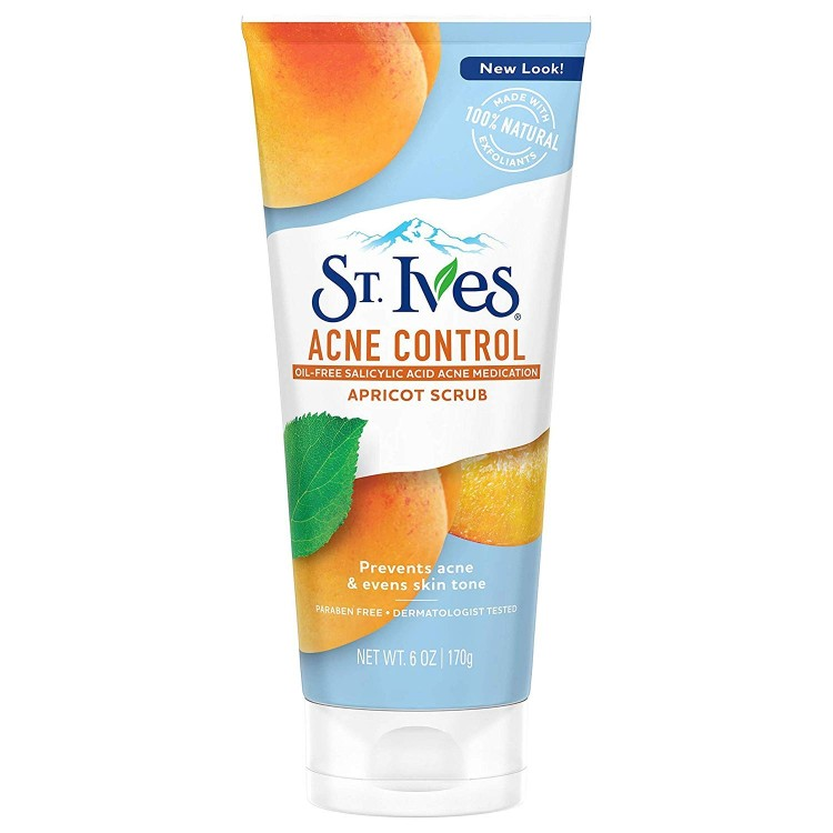 St. Ives Acne Control Apricot Face Scrub-0