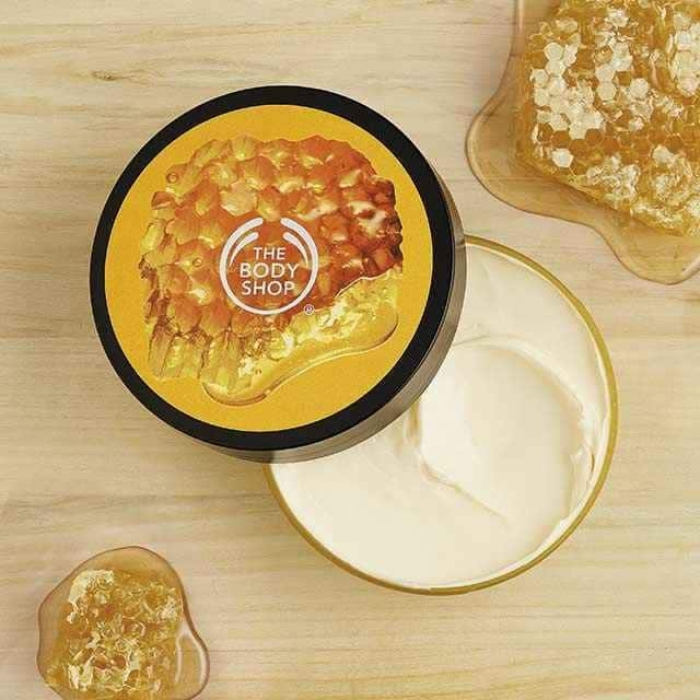 The Body Shop Honeymania Nourishing Body Butter-7146