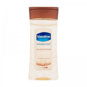 Vaseline Intensive Care Cocoa Butter Vitalising Body Gel Oil-0