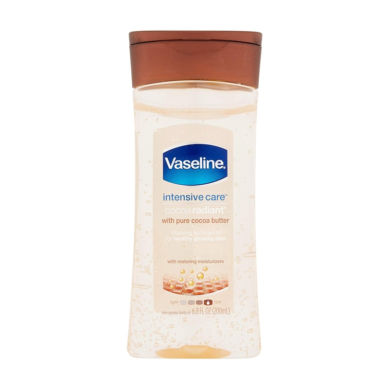 Vaseline Intensive Care Cocoa Butter Vitalising Body Gel Oil-0