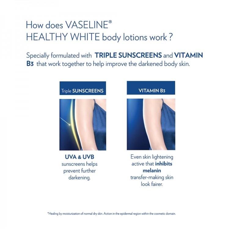 Vaseline Healthy White Lightening Body Lotion-8317