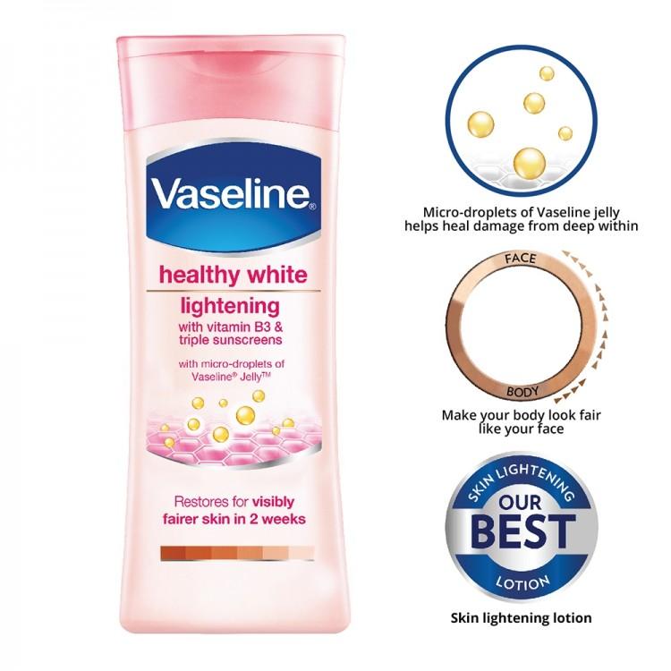 Vaseline Healthy White Lightening Body Lotion-8318