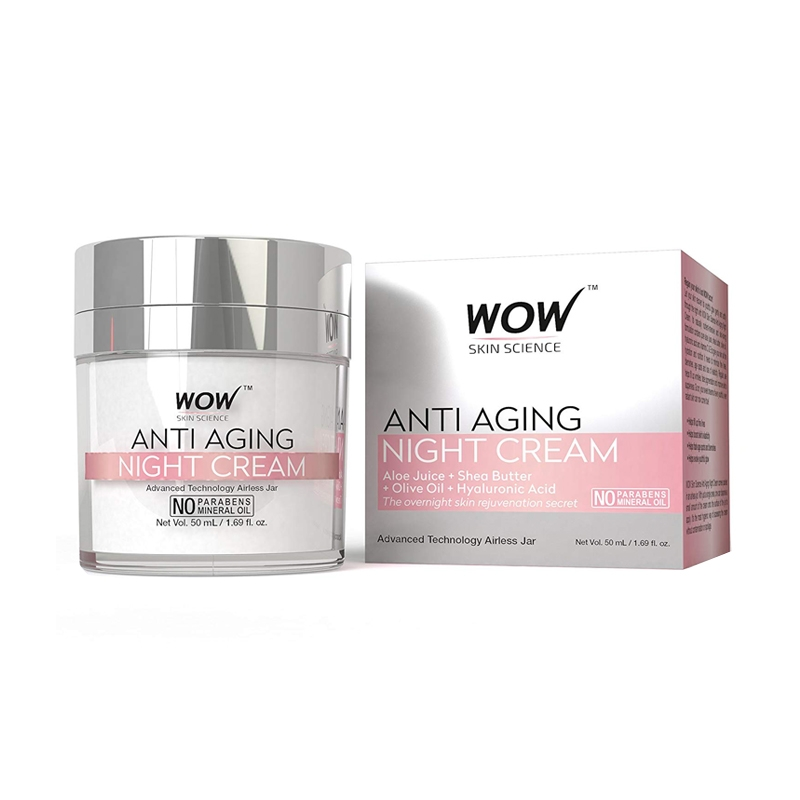 WOW Anti Aging Night Cream -0