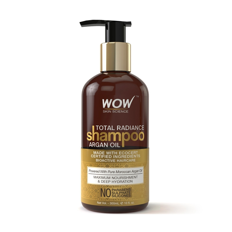 WOW Total Radiance Shampoo Argan Oil-0