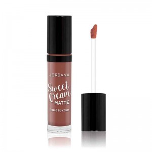Jordana Sweet Cream Matte Liquid Lip Color 22 Cinnamon Toast-0
