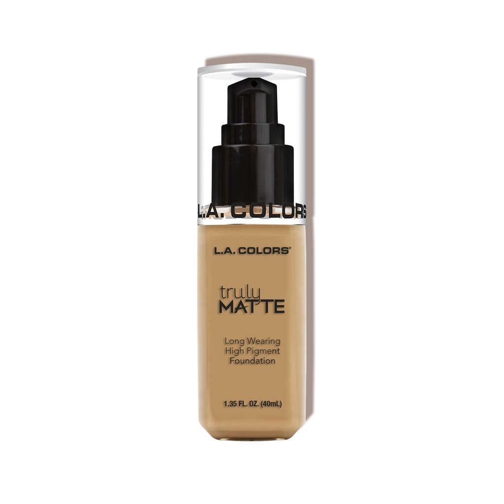 L.A. Colors Truly Matte Foundation – Medium Beige