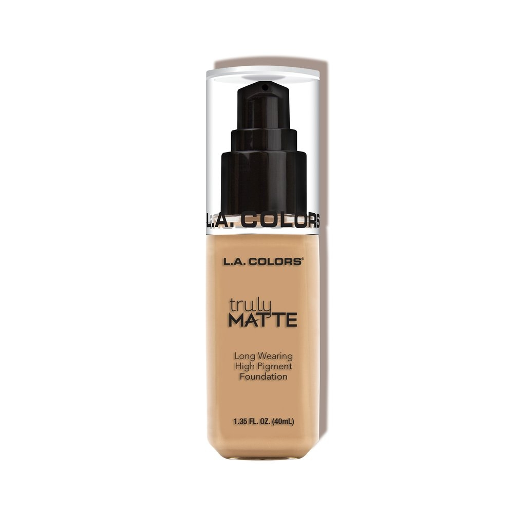 L.A. Colors Truly Matte Foundation – Natural
