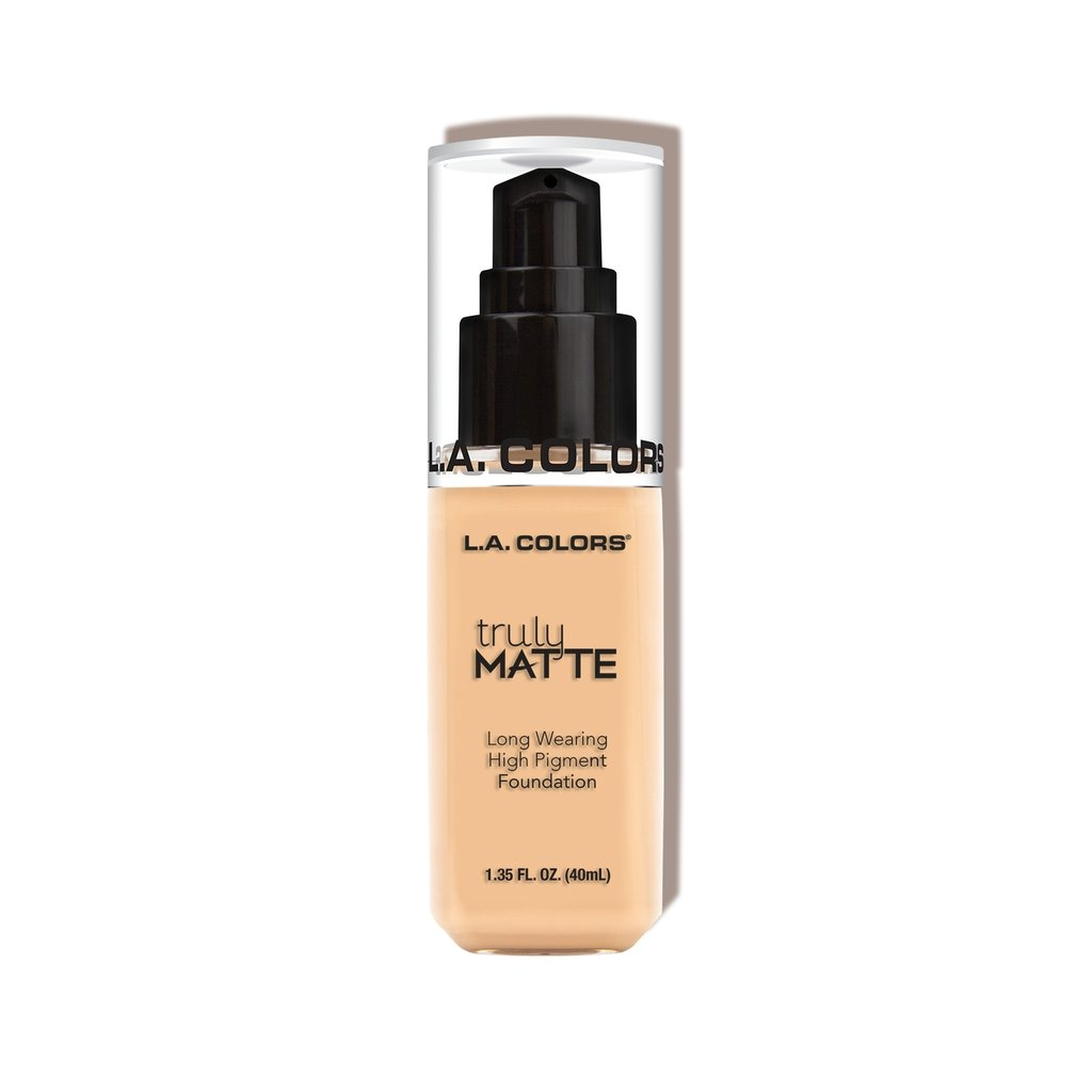 L.A. Colors Truly Matte Foundation – Porcelain