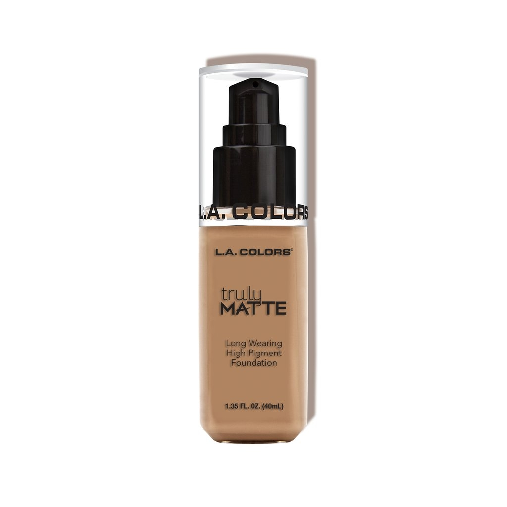 L.A. Colors Truly Matte Foundation – Sande