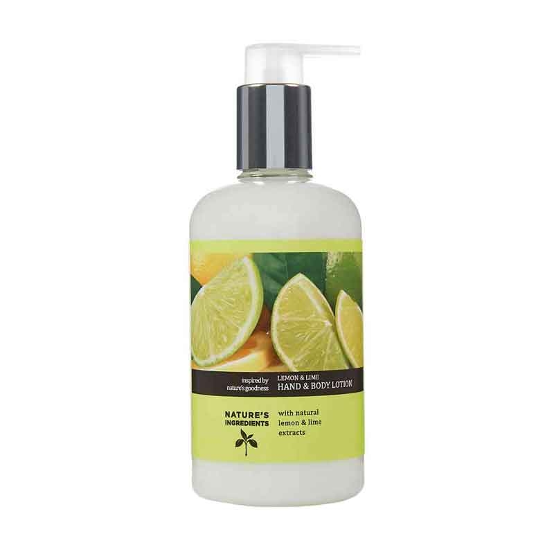 M&S Nature's Ingredients lemon And lime Hand And Body Lotion-0