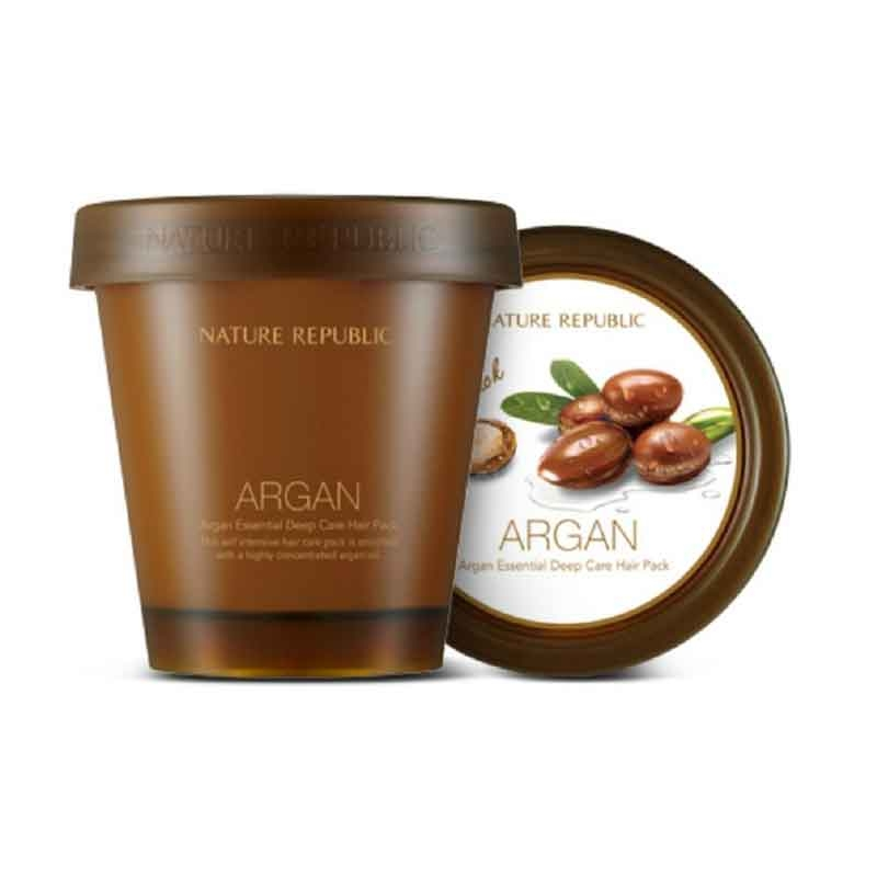 Nature Republic Argan Essential Deep Care Hair Pack-0