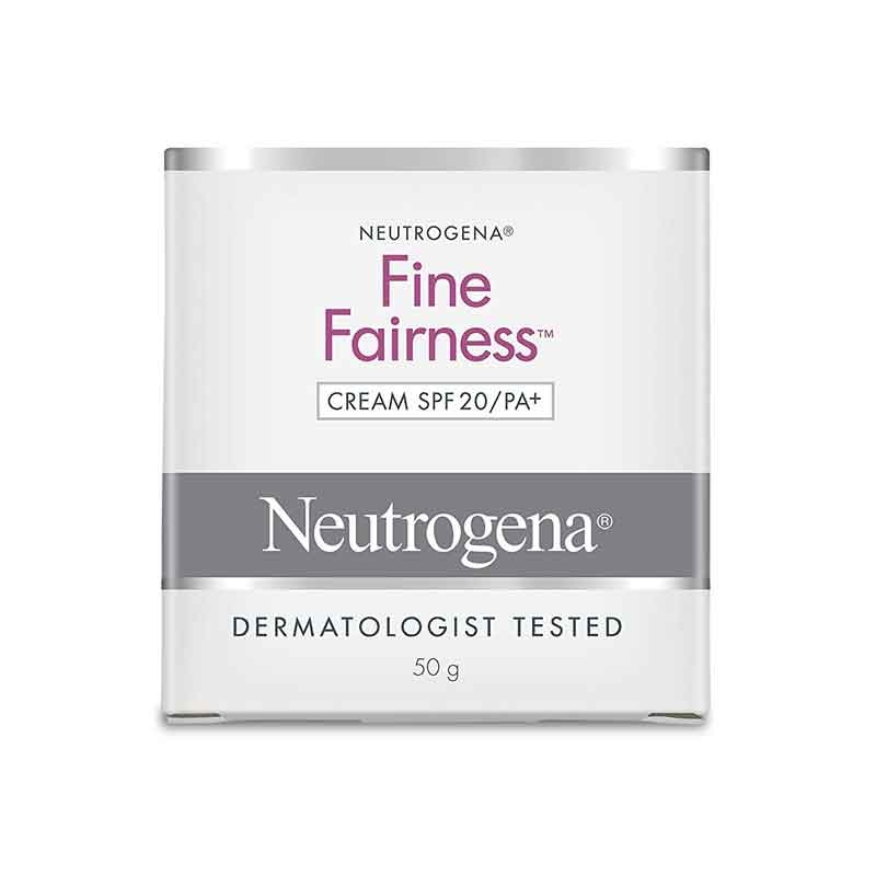 Neutrogena Fine Fairness Cream SPF20/PA+-0