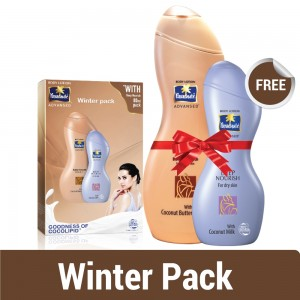 Parachute Advansed Body Lotion 300 ml Butter Smooth Co 80 ml Deep Nourish Free-0
