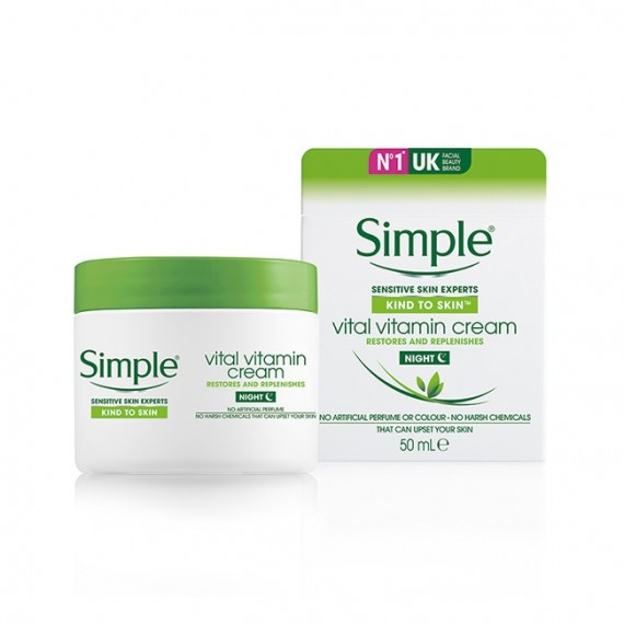 Simple Kind To Vital Vitamin night Cream-0