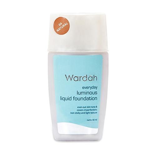 Wardah Everyday Luminous Liquid Foundation 04 Natural