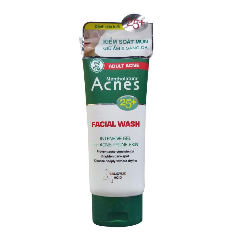 Acnes Mentholatum 25+ Facial Wash-0