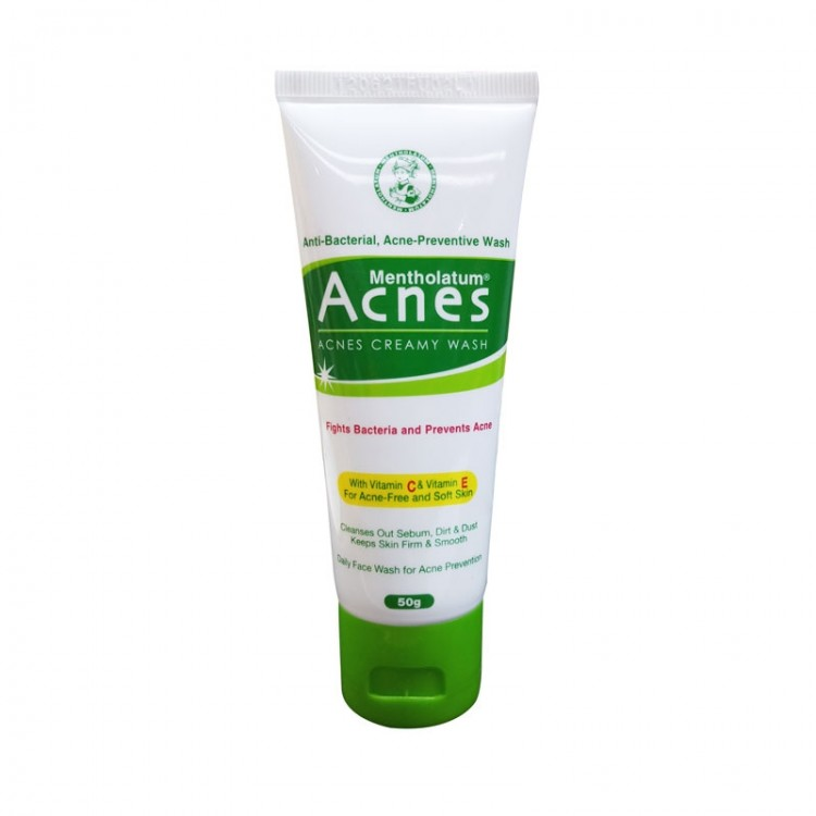 Acnes Mentholatum Acness Creamy Wash-0