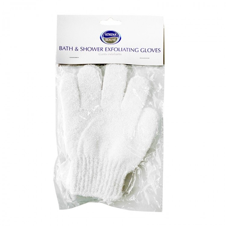 Athena Bath And Shower Exfoliating Gloves-7777
