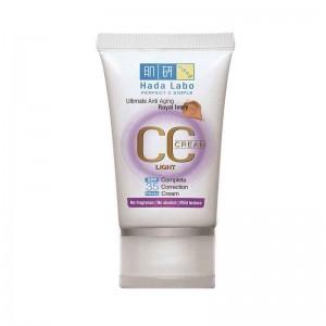 Hada Labo Ultimate Anti Aging CC Cream Light - Royal Ivory -0