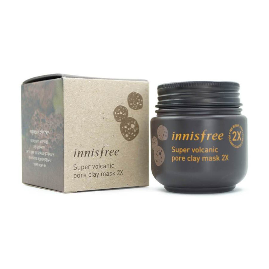 Innisfree Super volcanic pore clay mask 2X-0