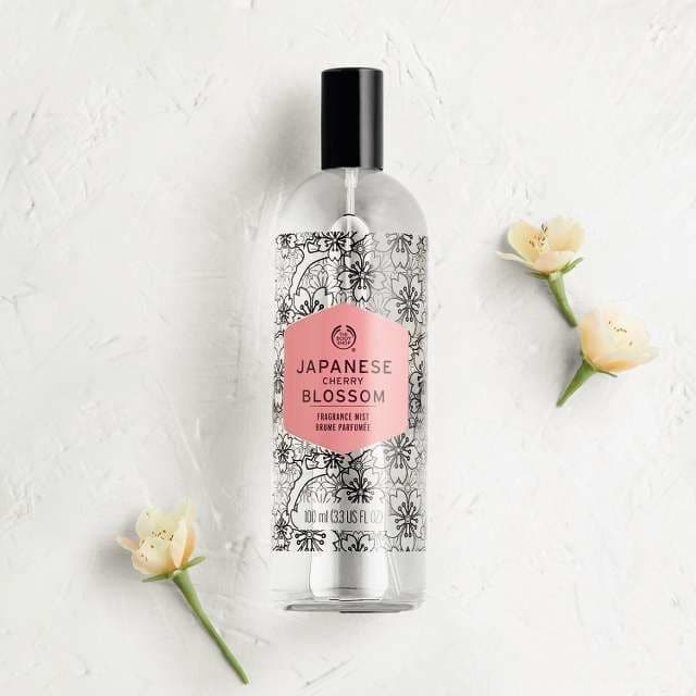 The Body Shop Japanese Cherry Blossom Fragrance Mist-7820