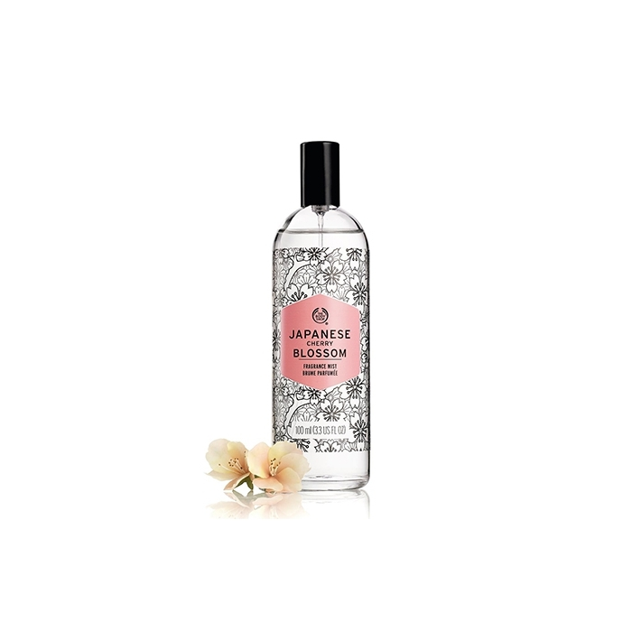 The Body Shop Japanese Cherry Blossom Fragrance Mist-7821