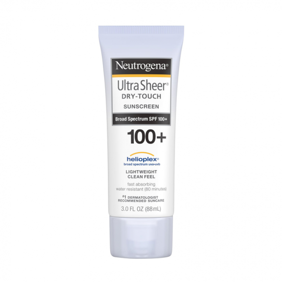 Neutrogena Ultra Sheer Dry-Touch Sunscreen Broad Spectrum SPF 100+ -0