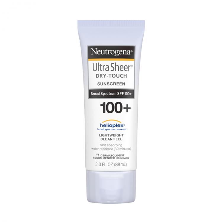 Neutrogena Ultra Sheer Dry-Touch Sunscreen Broad Spectrum SPF 100+ -0