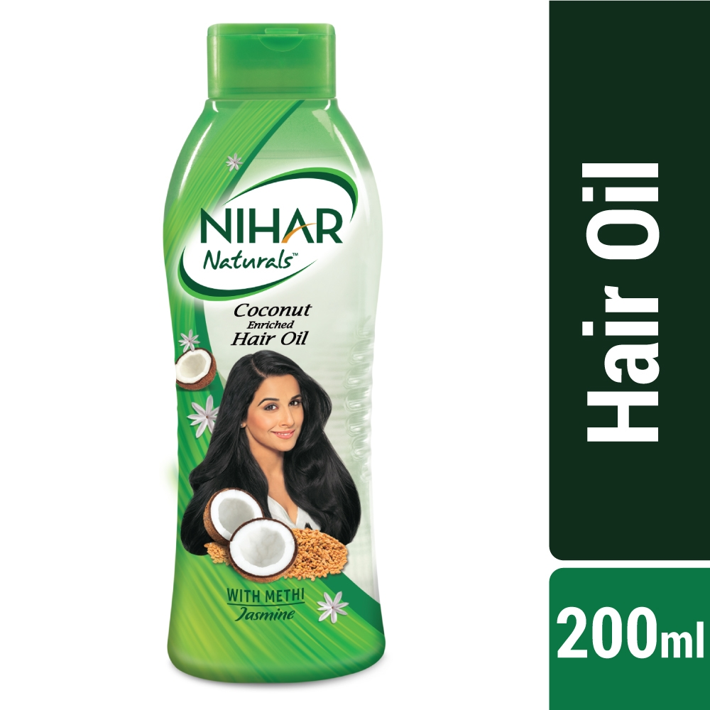 Nihar Natural Coconut Jasmine Hair Oil-0