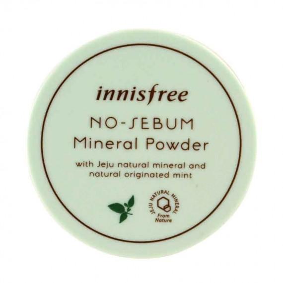 Innisfree No Sebum Mineral Powder Jeju Natural -0
