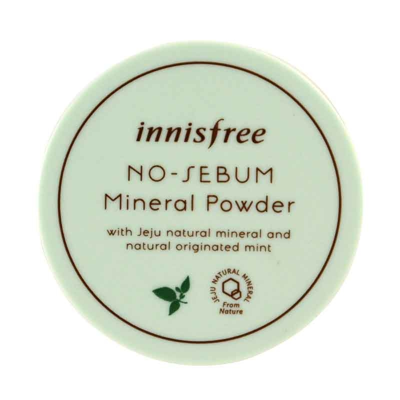 Innisfree No Sebum Mineral Powder Jeju Natural -0