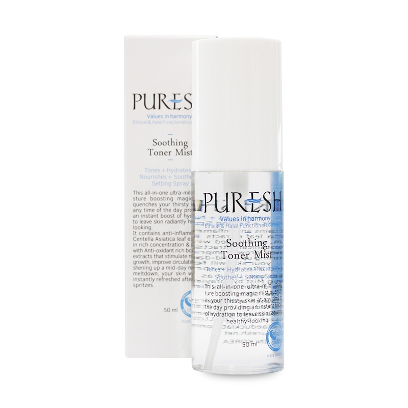 Puresh Soothing Toner Mist-0