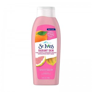 St. Ives Pink Lemon & Mandarin Orange Radiant Skin Exfoliating Body Wash-0