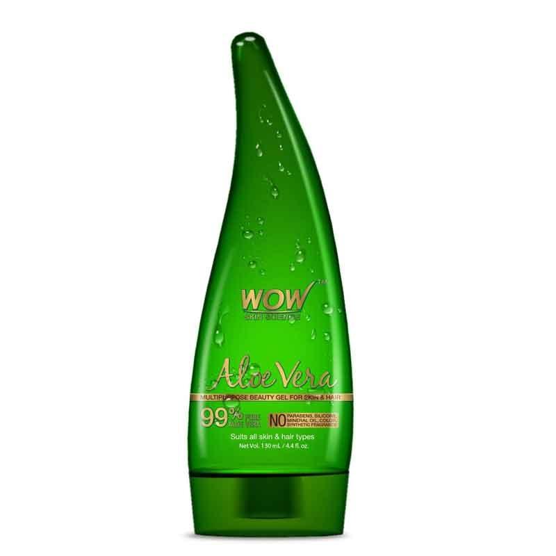 WOW Aloe Vera Multipurpose Beauty Gel for Skin and Hair-0