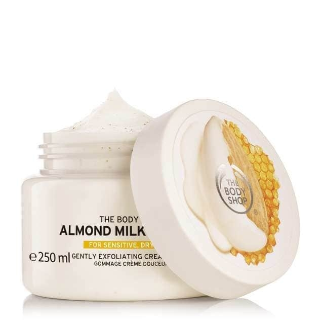 The Body Shop Almond Milk & Honey Gently Exfoliating Cream Scrub-0