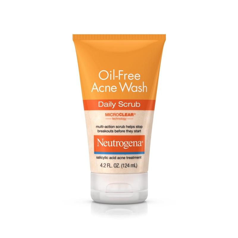 Neutrogena Oil-Free Acne Wash Daily Scrub -0