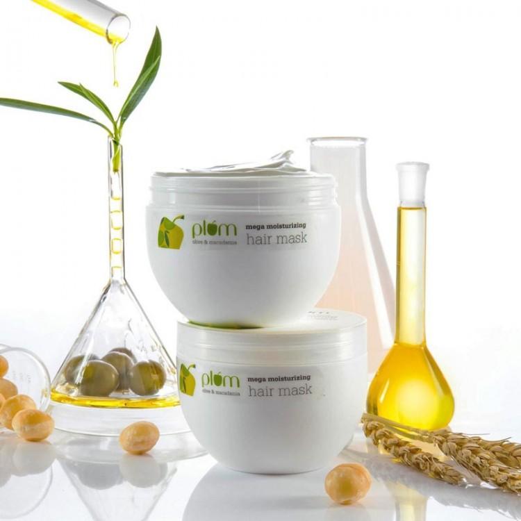 Plum Olive & Macadamia Mega Moisturizing Hair Mask -7995