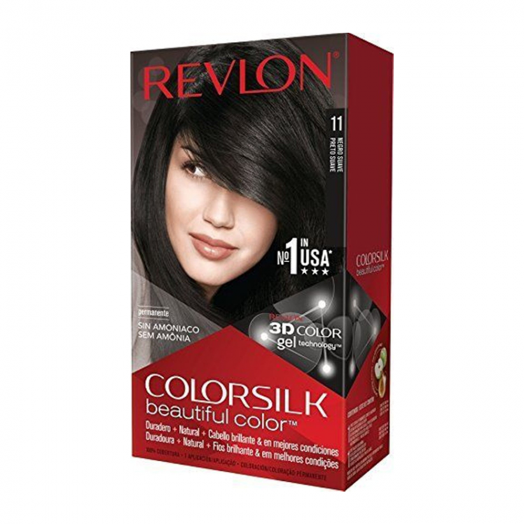 Revlon Hair Color Silk - 11 Negro Suave-0