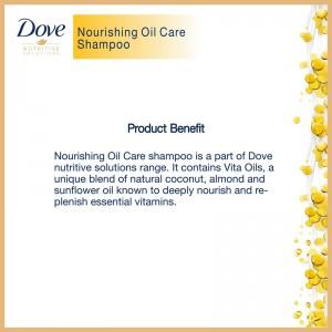 Dove Shampoo Nourishing Oil Care-8521