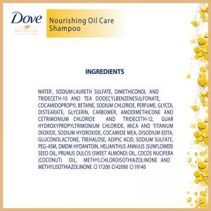 Dove Shampoo Nourishing Oil Care-8523