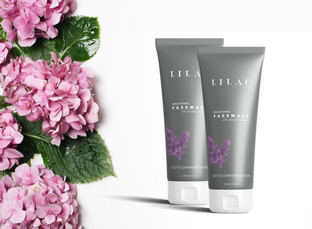Review: Lilac charcoal face wash
