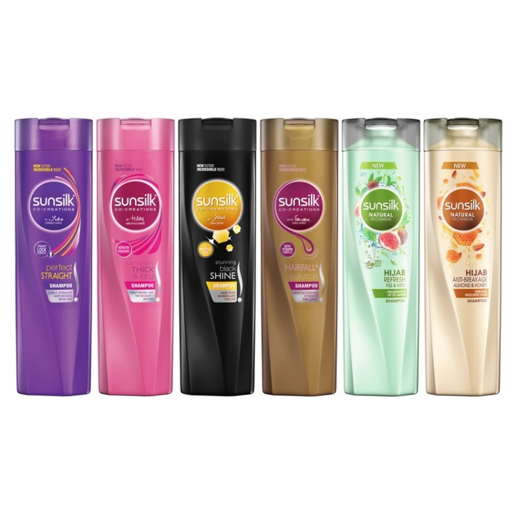 Sunsilk Shampoo Lusciously Thick & Long -8457