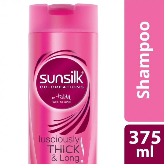 Sunsilk Shampoo Lusciously Thick & Long -0