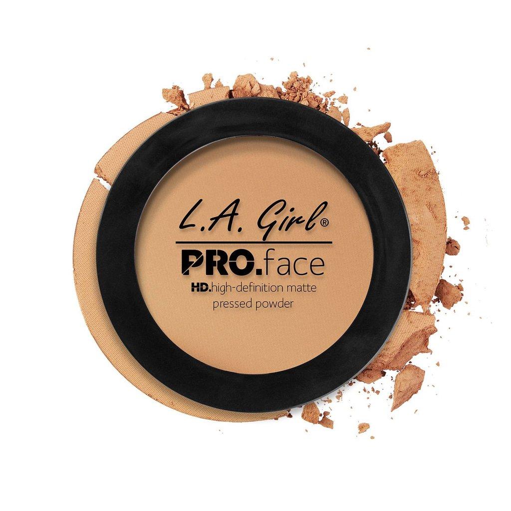 L.A Girl Pro Face Matte Pressed Powder – Medium Beige