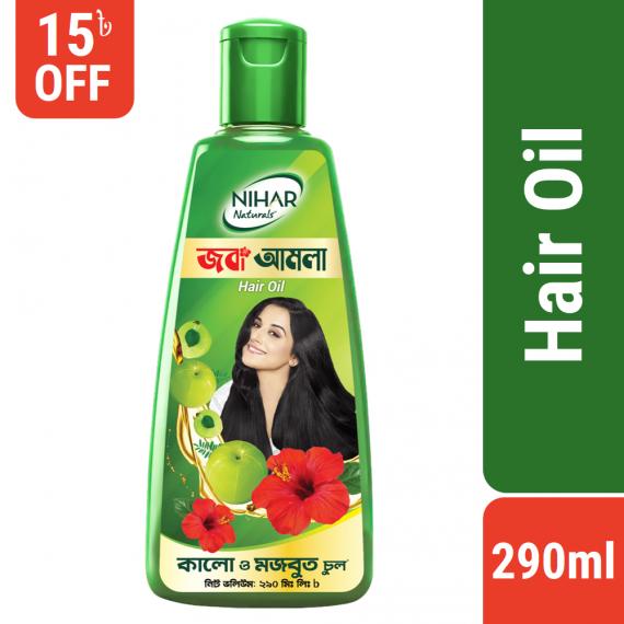 Nihar Naturals Hair Oil Joba Amla – 290ml