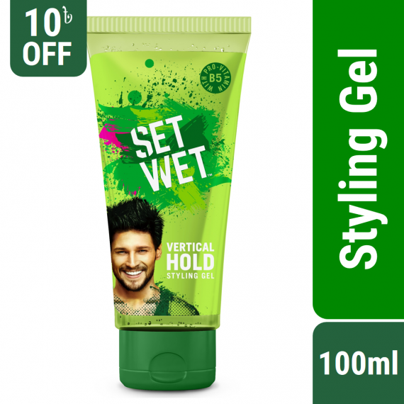 Set Wet Hair Gel Vertical Hold Styling – 100ml