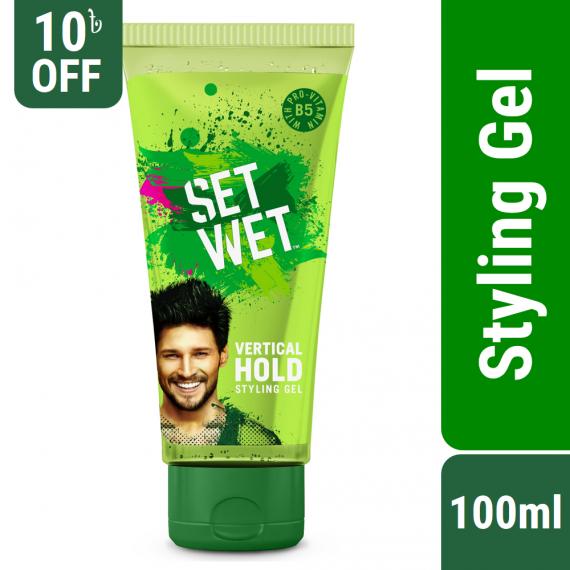 Set Wet Hair Gel Vertical Hold Styling – 100ml