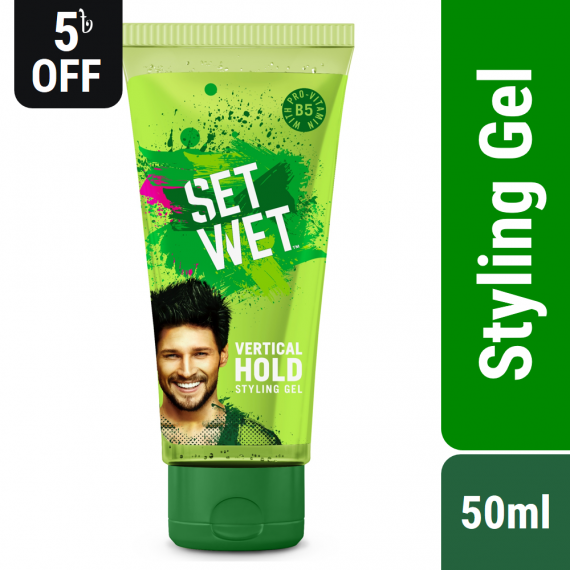 Set Wet Hair Gel Vertical Hold Styling – 50ml
